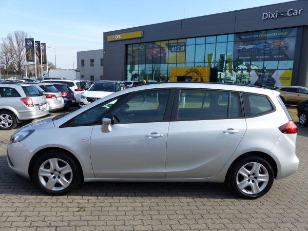 Opel Zafira C 1.4 Turbo 7osobowa Navi Bagażnik Rowerowy Gwarancja Fabr