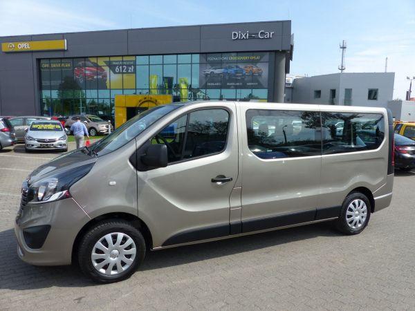 Opel Vivaro L2H1 1,6 Cdti Biturbo 125KM, nawiewy, 9 osobowy Vat23%