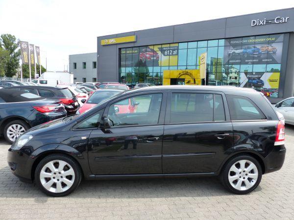 Opel Zafira 1.7 CDTI 125KM Niski przebieg Serwis ASO Gwarancja