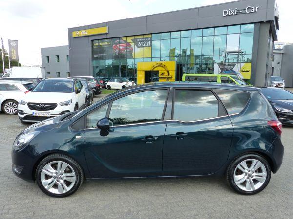 Opel Meriva 1.4 140KM Cosmo skóra kolorowe radio kamera Serwis ASO