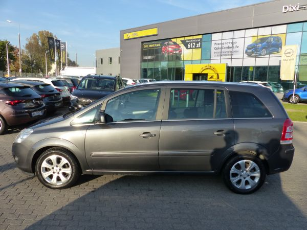 Opel Zafira 1.8 140KM Serwis ASO Bezwypadkowa Gwarancja