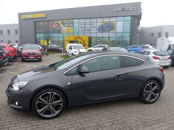 Opel Astra GTC 1.6 TURBO 180KM + LPG Navi skóra xenon Full opcja