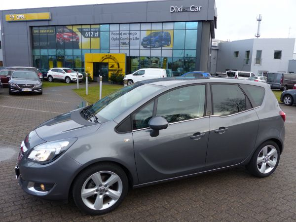Opel Meriva B 1.4 Turbo Cosmo Skóra LED Jak nowa Gwarancja