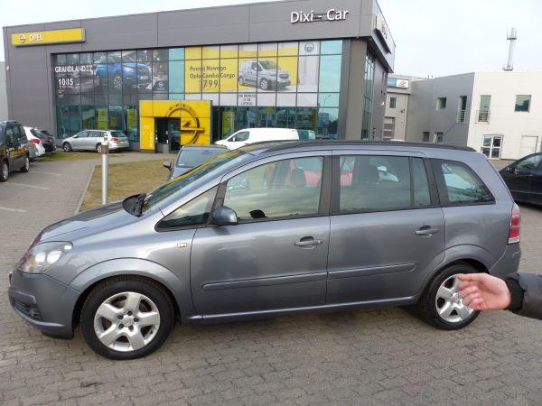 Opel Zafira 1.8 140KM Salon Polska Niski Przebieg Serwis ASO
