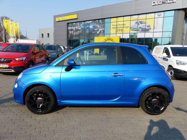 Fiat 500 1,2 8V 69KM, Sport, Felgi aluminiowe, Salon PL