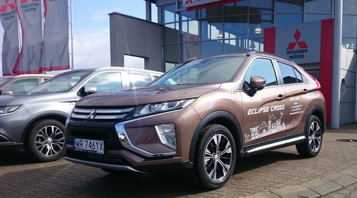 Mitsubishi Eclipse Cross Intense 1.5T 163KM benzyna
