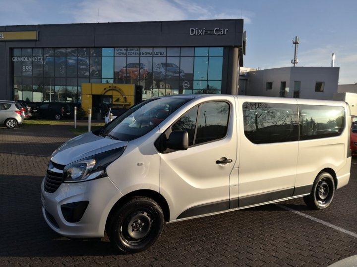 Opel Vivaro B L2H1 1,6 CDTI 125KM Nawiewy,9 osób, Salon PL,Vat23%