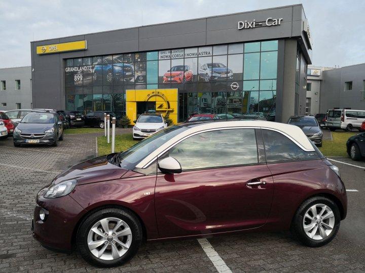Opel Adam GLAM 1,4 benzyna 87KM, Przebieg tylko 6800km