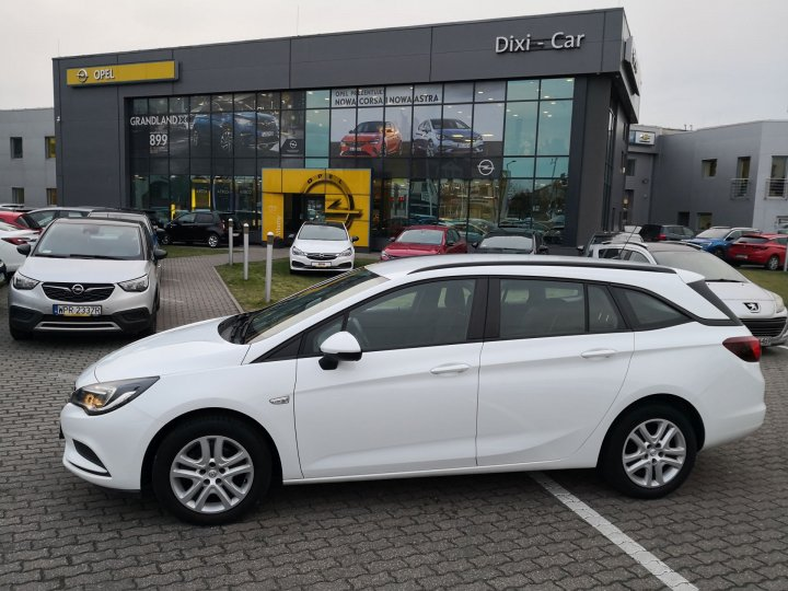 Opel Astra V Sports Tourer 1,4 Turbo 125KM, Salon Polska, Vat23%
