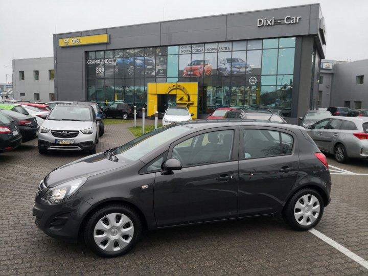 Opel Corsa D 1,2 benzyna 85KM, Salon Polska, 1 wł