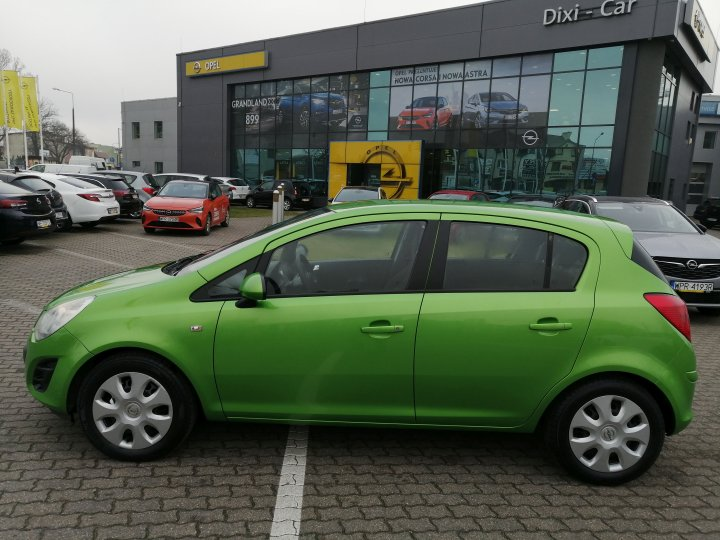 Opel Corsa D 1,2 benzyna 85KM, Salon Polska rej 2012