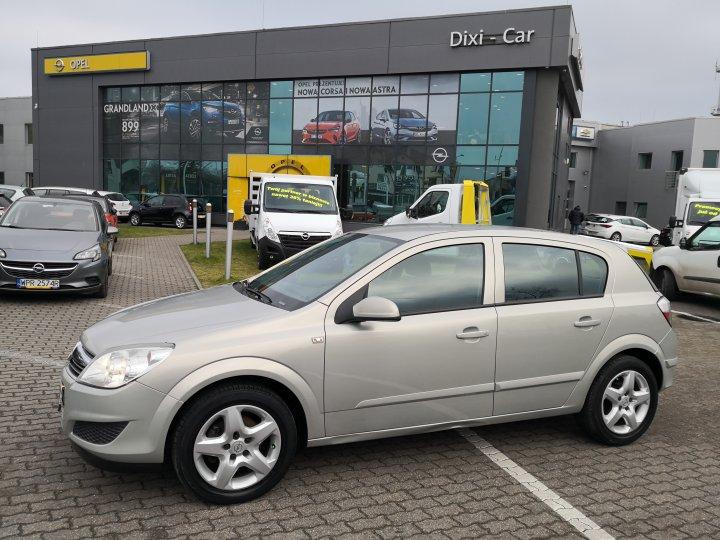 Opel Astra 1.6 16v 115KM Salon Polska 1 właściciel CLIMATRONIC Serwis ASO