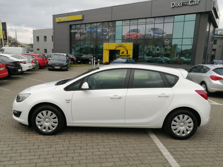 Opel Astra IV Active 1,4 100KM, Salon Polska