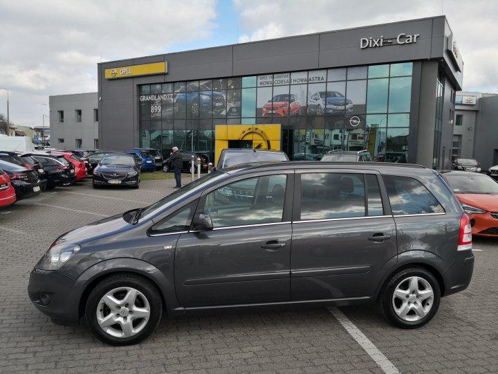 Opel Zafira B 1,6 115KM 7 osobowy Serwis ASO (rata 425 zł/mc)