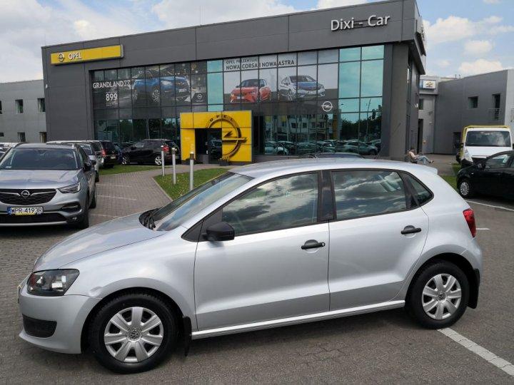 VW Polo V 1,2 benzyna 70KM, Salon PL, serwis ASO, 1właściciel