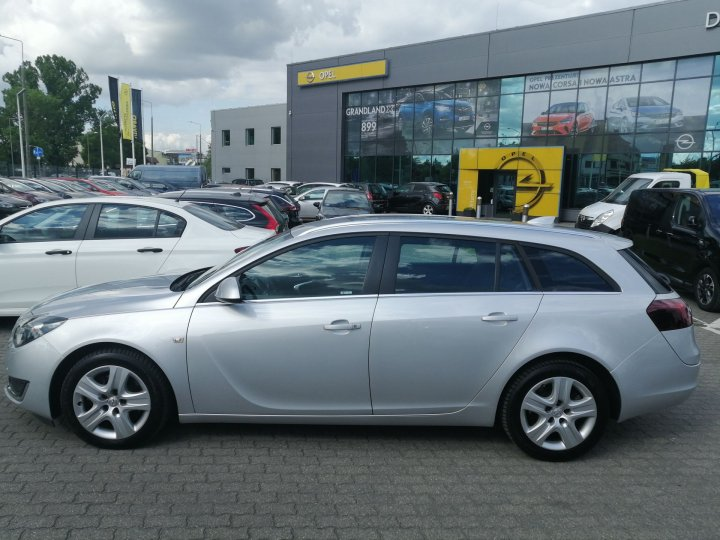 Opel Insignia A FL 2,0 CDTI 170KM, Niski przebieg, Navi
