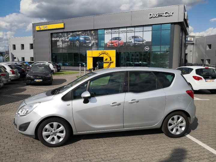 Opel Meriva B 1.4 Turbo FABRYCZNE LPG Serwis ASO Gwarancja