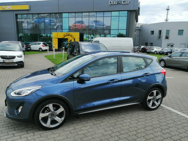 Ford Fiesta 1,0 EcoBoost 100KM, Active, Automat, Salon PL, Vat23%,