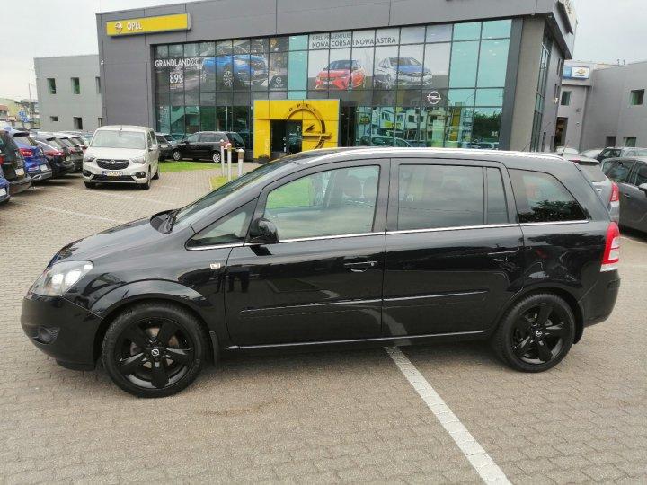 Opel Zafira B 1.8 140KM Salon Polska 1 użytkownik Serwis ASO Vat23%