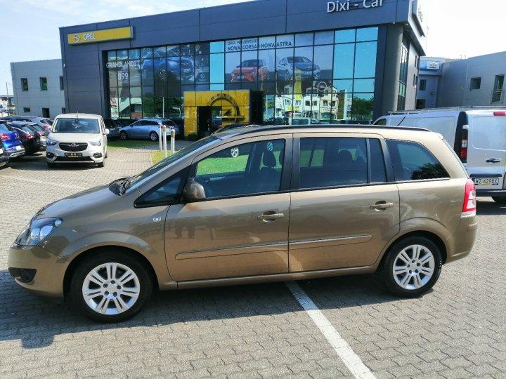 Opel Zafira B 1.8 140KM Gwarancja po Sewisie w  ASO