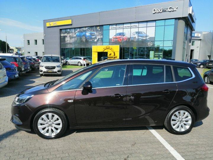 Opel Zafira C 1.4 Turbo 7 osobowa Nowy Model Serwis Gwarancja