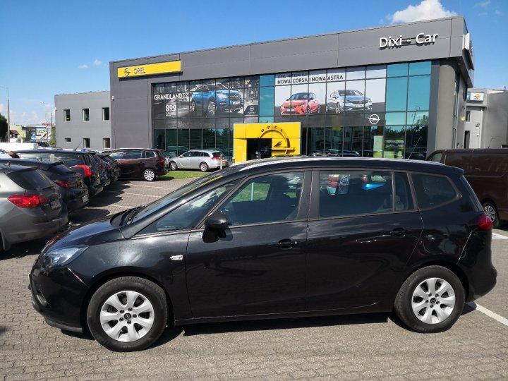 Opel Zafira C 1.4T 140KM 7osobowa Serwis ASO Gwarancja rej2013r