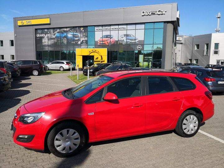 Opel Astra IV 1,4 Turbo 120KM, Sports Tourer, MT6