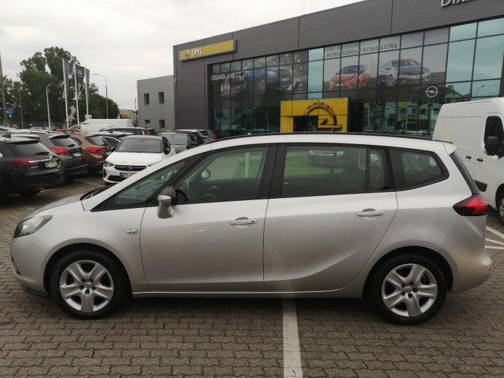 Opel Zafira C 1.4T 140KM 7osobowa Serwis ASO KAMERA Navi Gwarancja