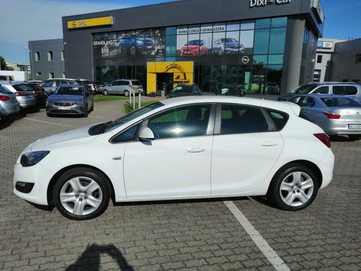 Opel Astra IV 1.4Turbo pół-skóra Kolorowy wyświetlacz Niski Przebieg