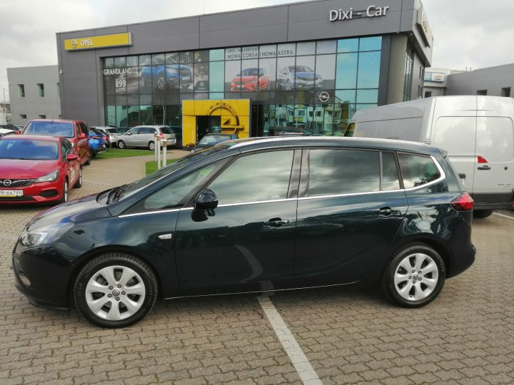 Opel Zafira C 2.0 170KM INNOVATION Full Kamera Xenon Skóra Serwis ASO