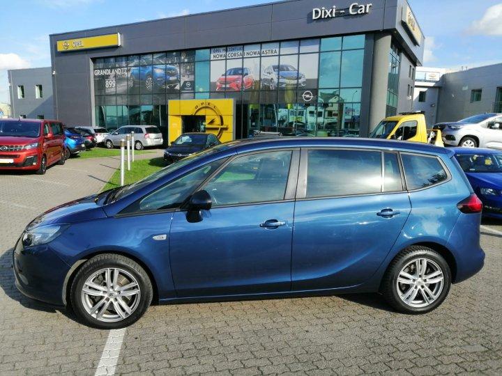Opel Zafira C 170KM Automat Sport Navi Serwis ASO 7 osobowa Gwarancja