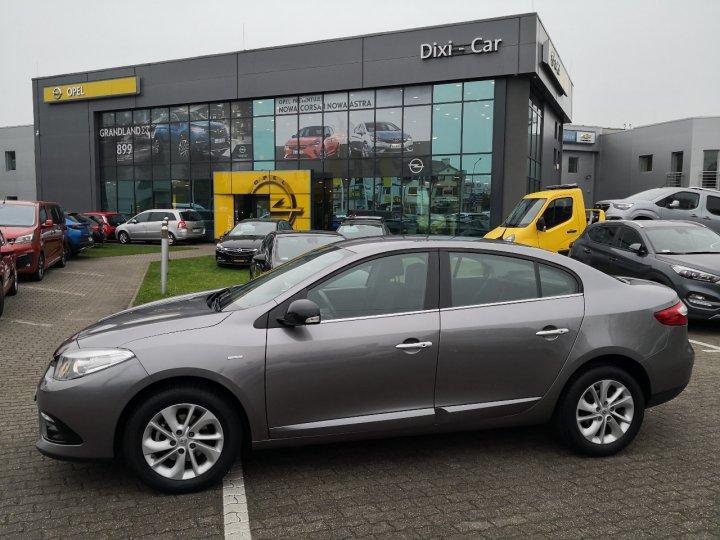 Renault Fluence Limited 1,6 benzyna 112KM, Salon PL, ASO