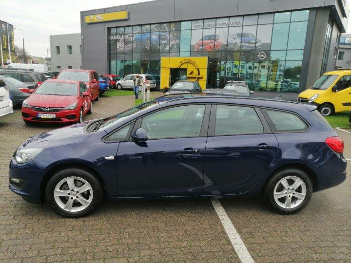 Opel Astra J 1.4Turbo Xenon Navi Niski Przebieg Serwis ASO