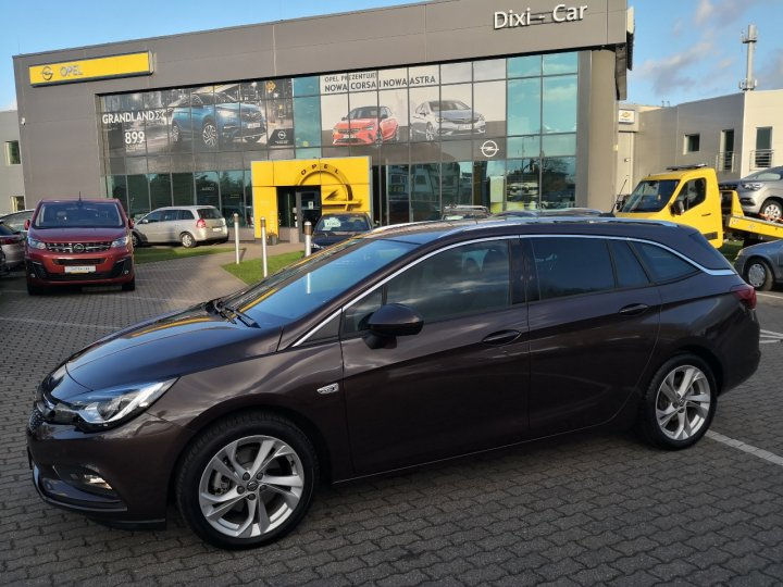Opel Astra V Sports Tourer 1,6 Turbo 200KM, Salon, Vat23%