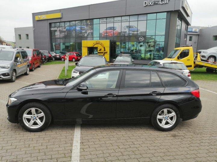 BMW 318d  Automat Navi Skóra Serwis ASO Bezwypadkowa