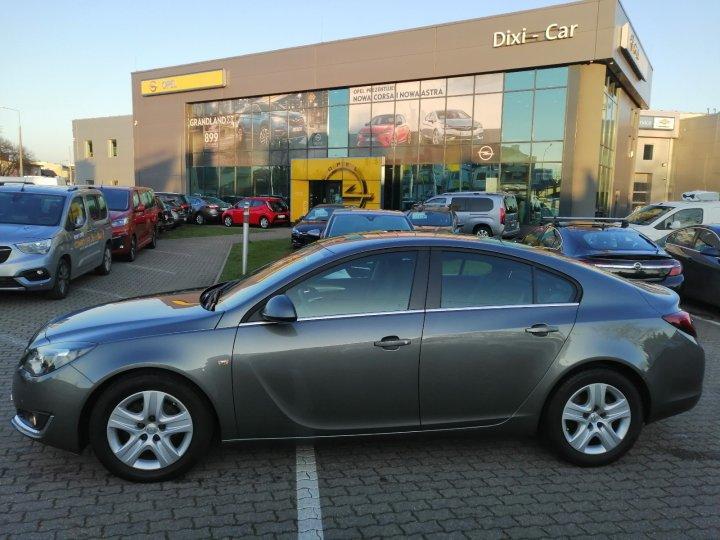 Opel Insignia 2.0 170KM Salon PL Xenon Serwis ASO Bezwypadkowa Gwarancja