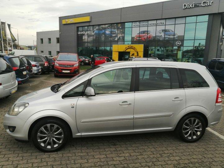 Opel Zafira B 1.8 140KM Automat Niski Przebieg Serwis ASO