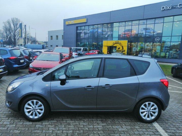 Opel Meriva B 1.4 140KM Navi Biski Przebieg Serwis ASO Gwarancja