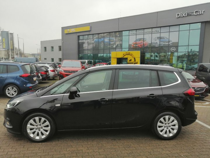 Opel Zafira C Lift 1.4 Full Opcja Led Navi Kamera Skóra Serwis ASO