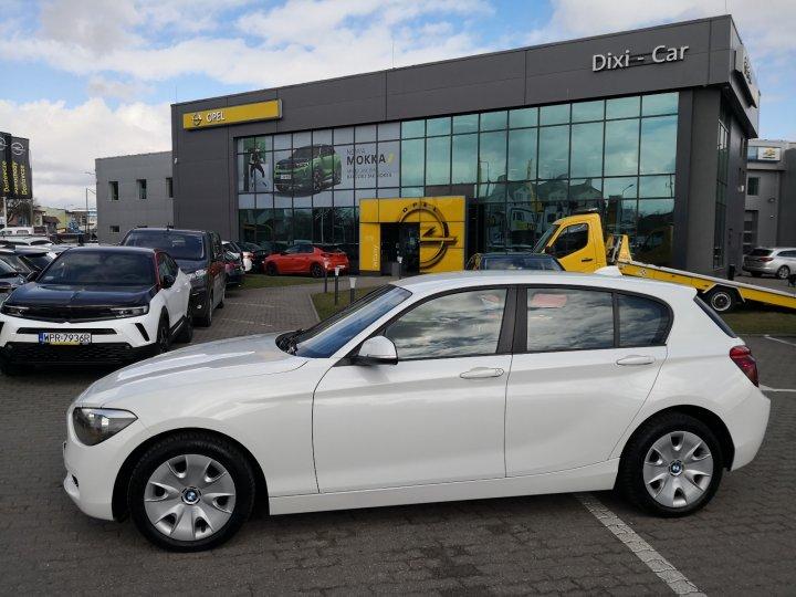 BMW 116i Lift, 1,6 benzyna 136KM podgrzewane fotele, klima auto, niski przebieg