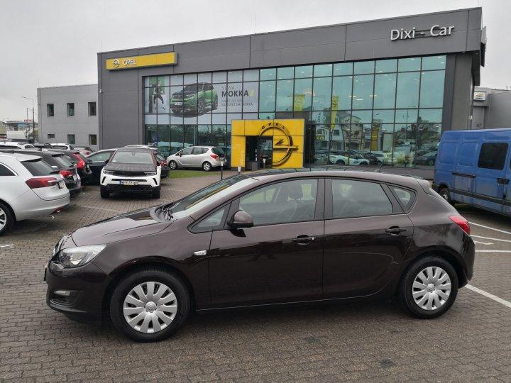 Opel Astra IV 1,4 Turbo 120KM, bardzo niski przebieg, salon PL