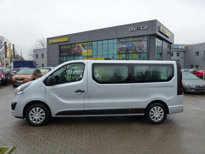 Opel Vivaro L2H1 1,6 CDTI 125KM, 2017 Vat23%