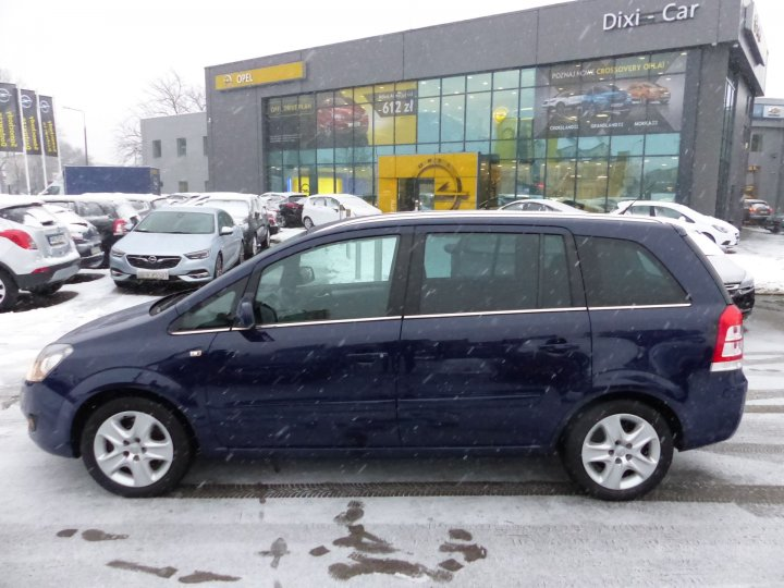 Opel Zafira B 1,7 CDTI 125KM, Salon PL,Bluetooth,Klima Automat,Sensory