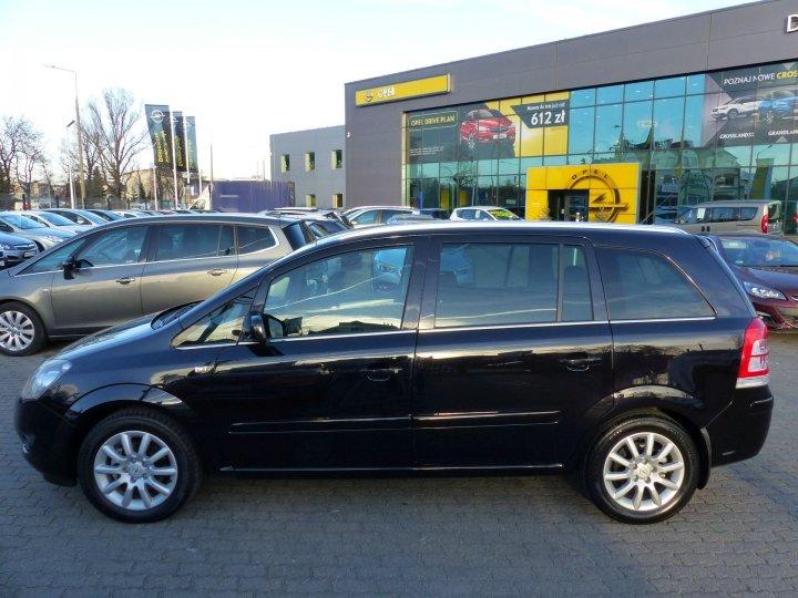 Opel Zafira B 1,8 140KM tylko 21.000 km