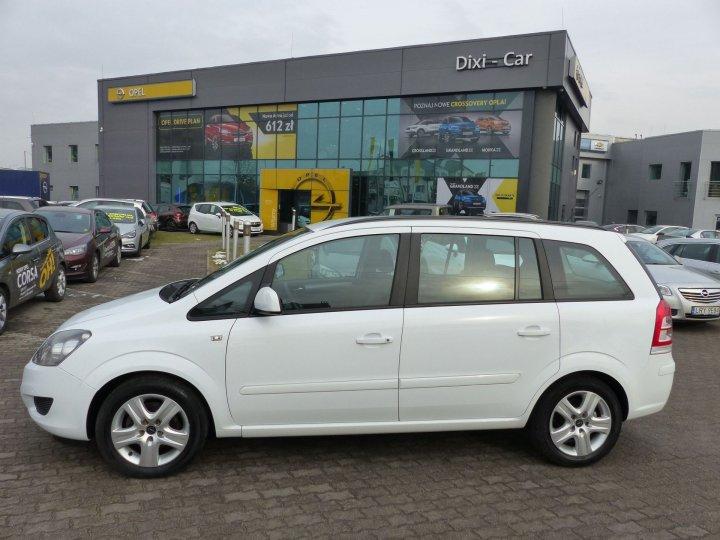 Opel Zafira B 1,6 16V 115KM, 2013r. niski przebieg