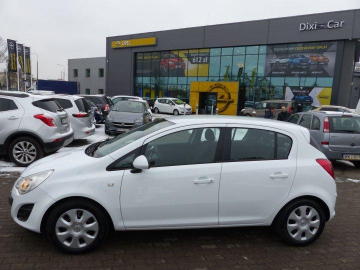 Opel Corsa D 1,2 benzyna 85KM, Podgrzewane fotele + kierownica