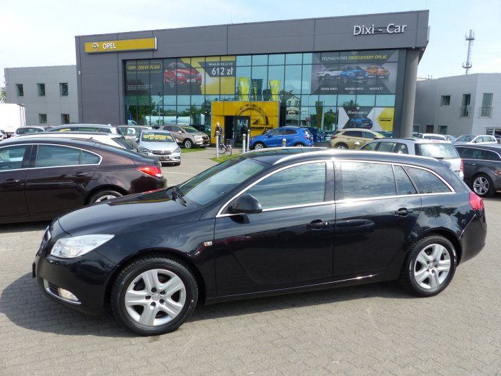 Opel Insignia Sports Tourer 2,0 CDTI 130KM, Salon Polska