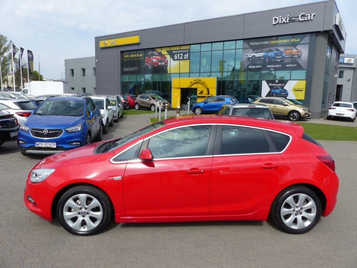 Opel Astra IV 1,4 Turbo 140KM, OPC Line, 2012r