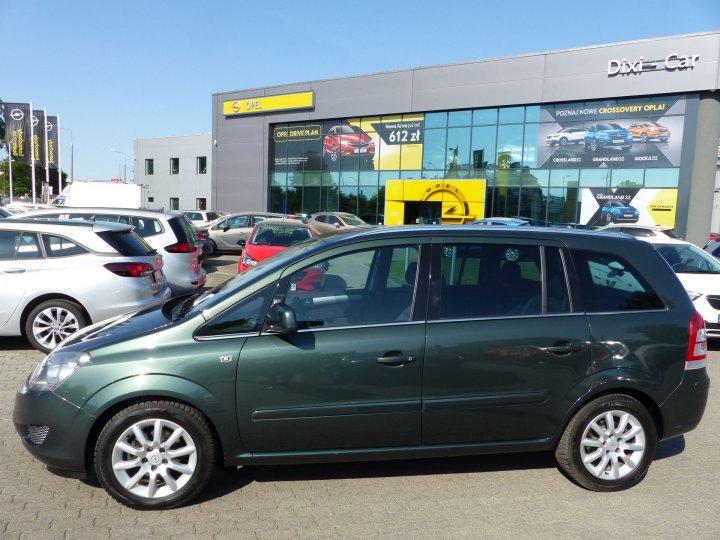 Opel Zafira B 1,8 140KM, 111 Edycja, 7 osób, niski przebieg