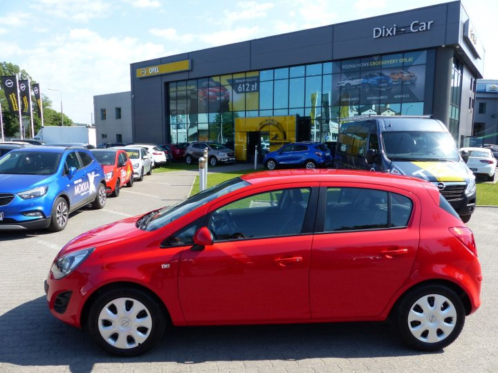 Opel Corsa D 1,2 benzyna 85KM, Touch&Connect - Navi Serwis ASO